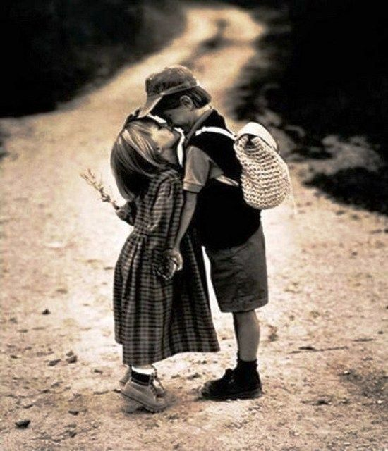 Любовь в детском саду.