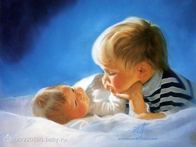 Как готовить старшего ребенка к рождению младшего/ Ревность старшего ребенка к младшему и другие трудности.